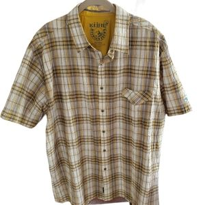KÜHL short sleeve button down with collar shirt